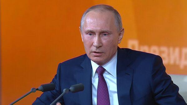 Владимир Путин ответил на вопрос про Михаила Саакашвили - Sputnik Ўзбекистон