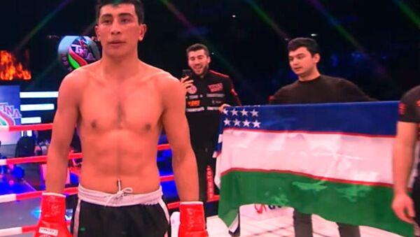 22 letniy chempion po kikboksingu Sher Mamazulunov - Sputnik Oʻzbekiston