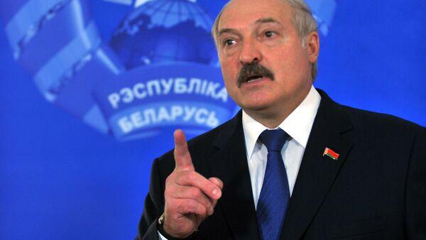 Президент Белоруссии Александр Лукашенко - Sputnik Ўзбекистон