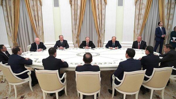 Встреча с руководителями органов безопасности и спецслужб стран СНГ - Sputnik Ўзбекистон