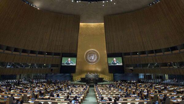 Генеральная Ассамблея одобрила резолюцию о положении с правами человека в Крыму - Sputnik Ўзбекистон