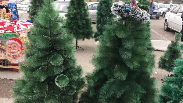 Продажа елок в Ташкенте - Sputnik Узбекистан