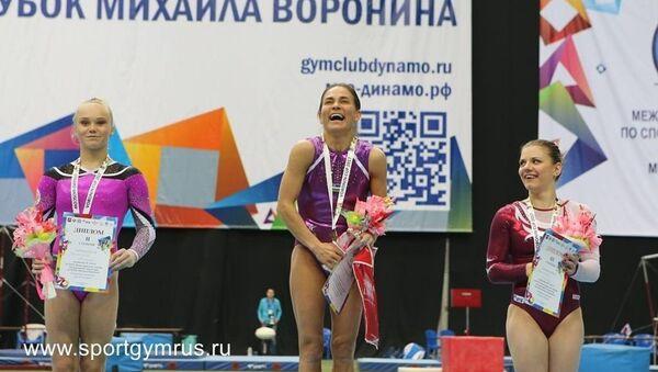 Oksana Chusovitina - Sputnik Oʻzbekiston