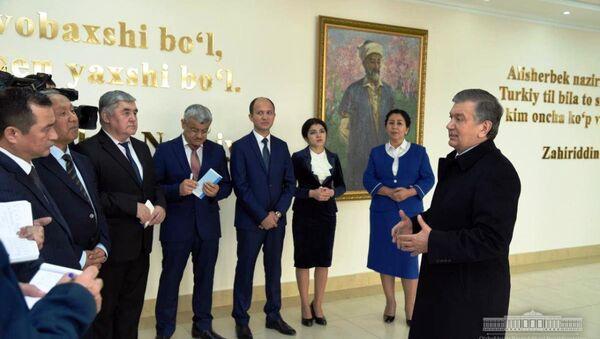 Президент ознакомился с социальными объектами в Ташкенте - Sputnik Ўзбекистон