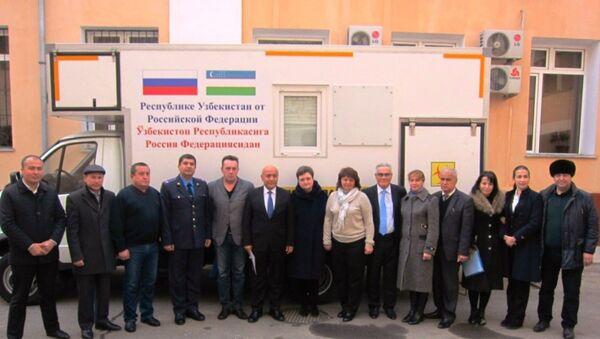 Роспотребнадзор передал  Узбекистану микробиологическию лабораторию - Sputnik Ўзбекистон