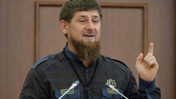 Рамзан Кадыров - Sputnik Ўзбекистон