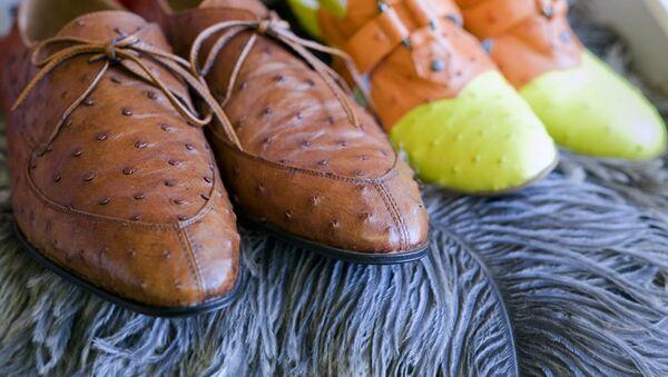 Обувь из страусиной кожи - Sputnik Узбекистан