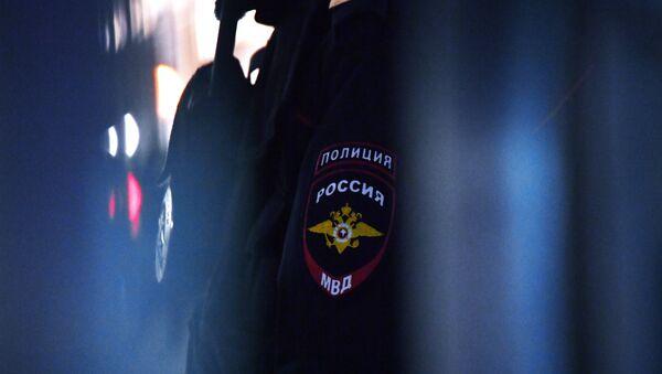 Эмблема на форме сотрудника полиции - Sputnik Узбекистан