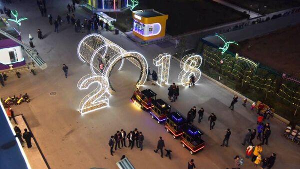 Ташкент готовится к новому году - Sputnik Ўзбекистон