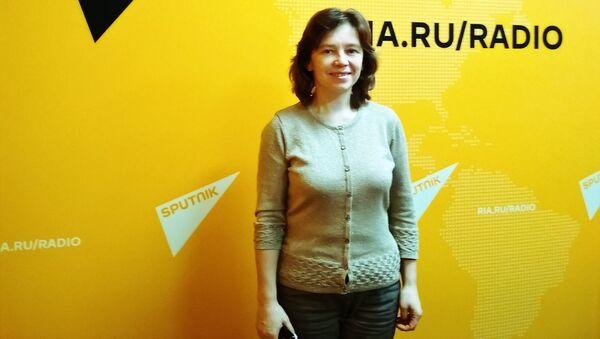 Людмила Кошман,  астроном, сотрудник Московского планетария - Sputnik Узбекистан