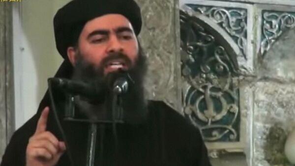 Лидер группировки Исламское государство Абу Бакра аль-Багдади - Sputnik Узбекистан