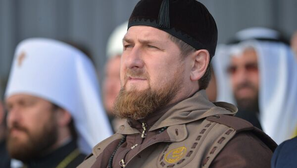 Глава Чеченской Республики Рамзан Кадыров  - Sputnik Узбекистан