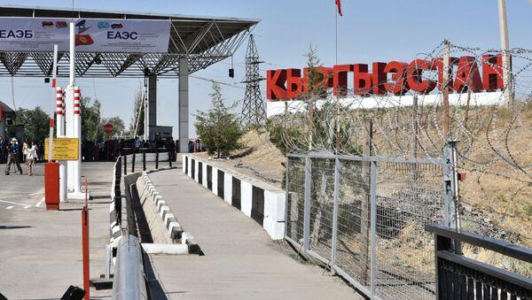 Контрольно-пропускной пункт  на границе c Кыргызстаном - Sputnik Узбекистан