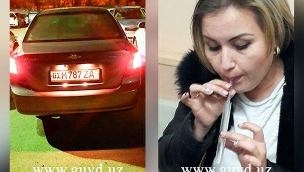Doska pozora: foto pyanыx avto-ledi opublikovanы na sayte GUVD Tashkenta - Sputnik Oʻzbekiston