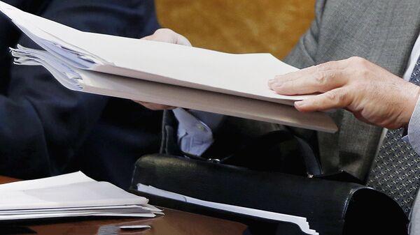 Папка с документами - Sputnik Узбекистан