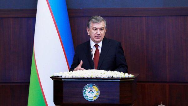 Shavkat Mirziyoyev na rasshirennom zasedanii Soveta bezopasnosti pri Prezidente Respubliki Uzbekistan - Sputnik Oʻzbekiston
