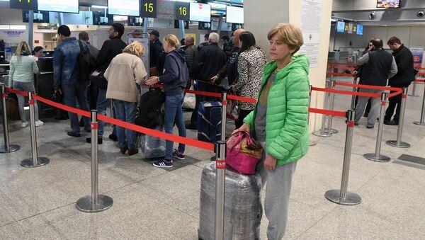 Аэропорт Домодедово - Sputnik Узбекистан