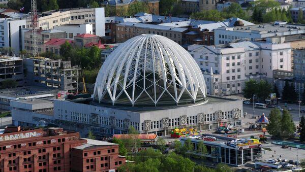 Смотровая площадка на небоскребе Высоцкий в Екатеринбурге - Sputnik Ўзбекистон