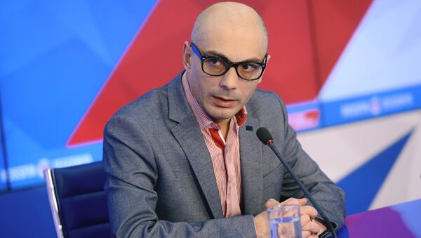 Российский журналист и радиоведущий Армен Гаспарян - Sputnik Узбекистан