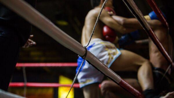 Боксерский поединок - Sputnik Узбекистан