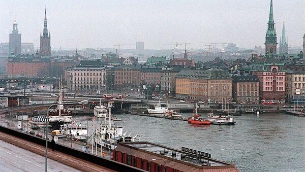 Стокгольм. Швеция - Sputnik Ўзбекистон