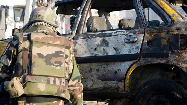 Последствия взрыва. Афганистан - Sputnik Ўзбекистон