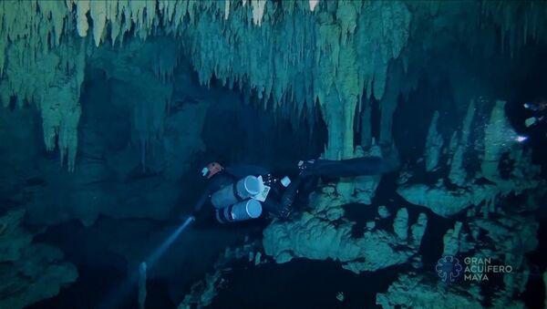 Самую большую на планете подводную пещеру нашли в Мексике - Sputnik Узбекистан