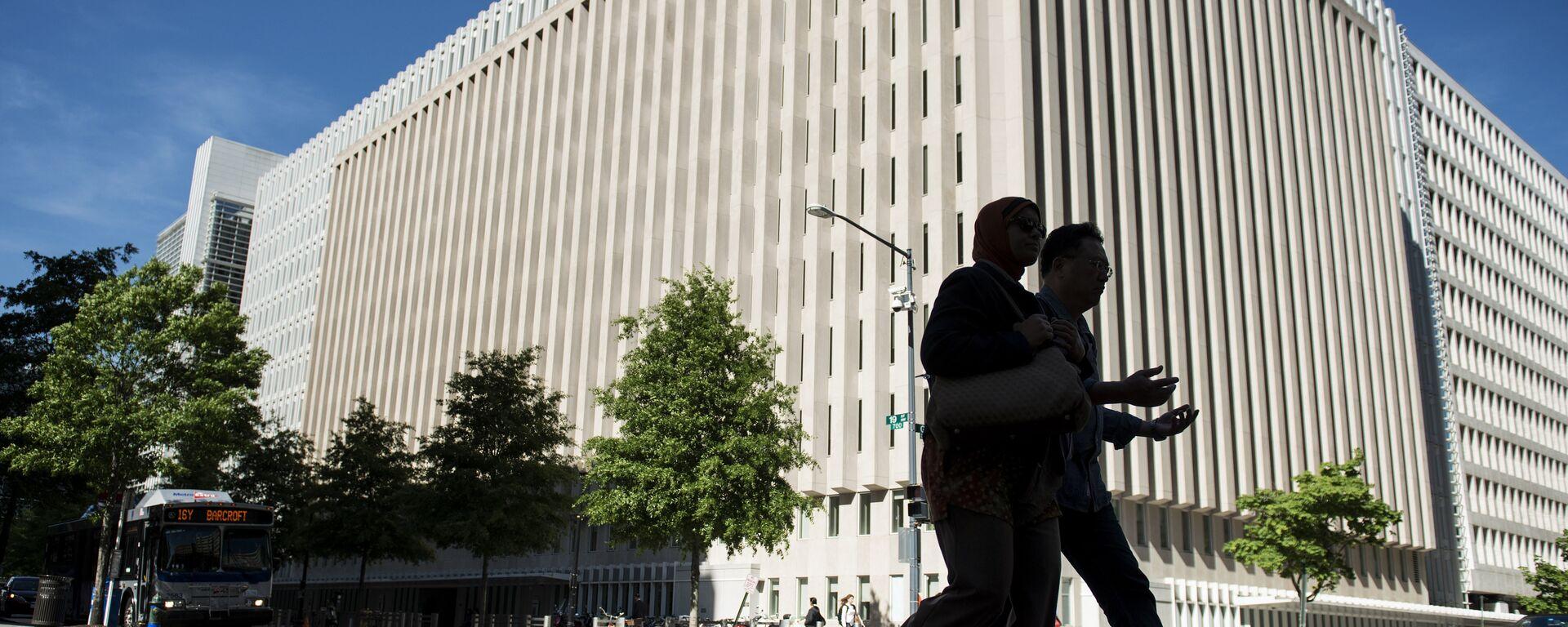 Штаб-квартира Всемирного банка в Вашингтоне - Sputnik Узбекистан, 1920, 29.09.2021
