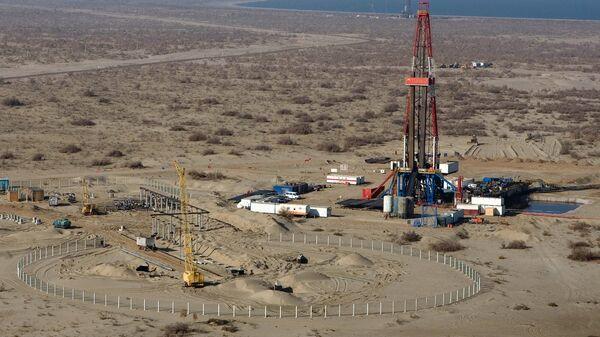 Газовое месторождение в Узбекистане - Sputnik Узбекистан