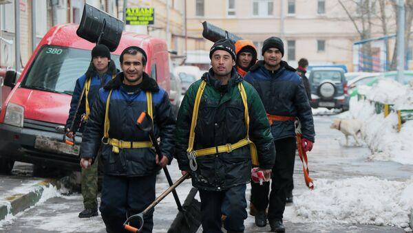 Sotrudniki kommunalnыx slujb - Sputnik Oʻzbekiston