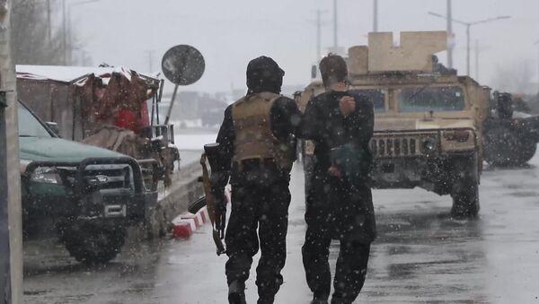 Нападение на военную академию в Кабуле - Sputnik Ўзбекистон