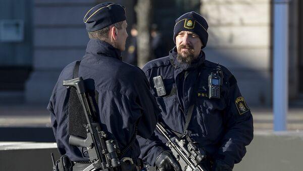 Полиция Швеции - Sputnik Ўзбекистон