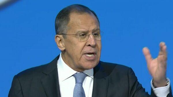 Kriki delegatov prervali rech Lavrova na kongresse v Sochi - Sputnik Oʻzbekiston
