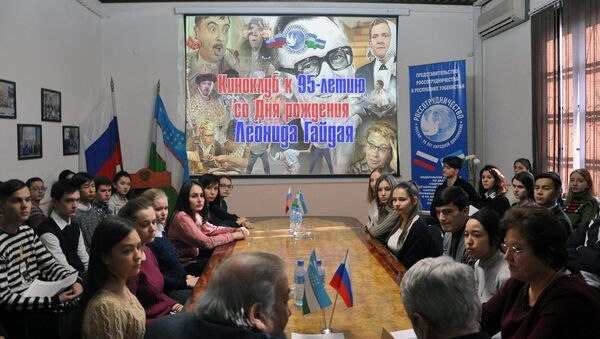 В РЦНК отметили 95 лет со дня рождения Леонида Гайдая - Sputnik Узбекистан