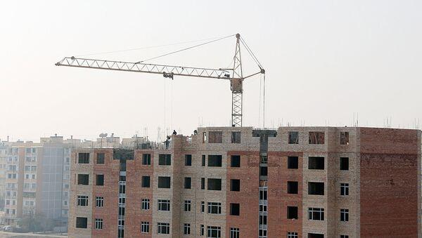 Строительство дома в Ташкенте - Sputnik Ўзбекистон