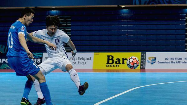 Узбекистан разгромил Южную Корею на чемпионате Азии по футзалу - Sputnik Узбекистан