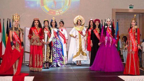 Международный конкурс Мисс Юнион - Sputnik Ўзбекистон