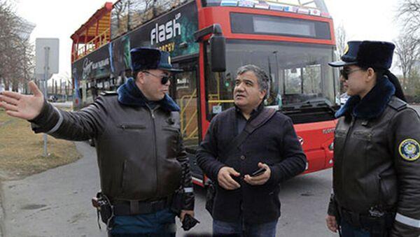 В целях обслуживания граждан и гостей столицы в г.Ташкенте при ГУВД организованы группы специальный патруль - Sputnik Ўзбекистон