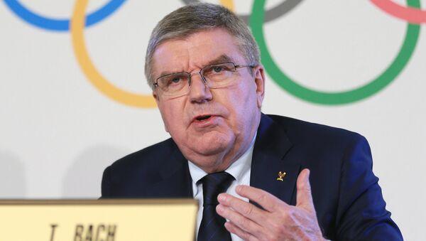 Президент Международного олимпийского комитета Томас Бах - Sputnik Узбекистан