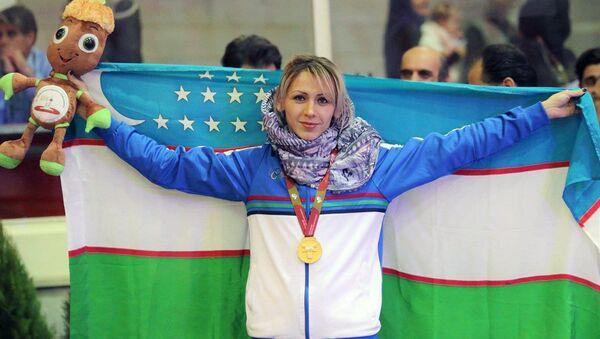 Надия Дусанова на чемпионате Азии по легкой атлетике в помещении в Тегеране - Sputnik Узбекистан