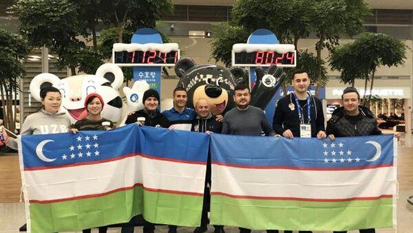 Sportivnaya delegatsiya Uzbekistana pribыla v Pxenchxan - Sputnik Oʻzbekiston