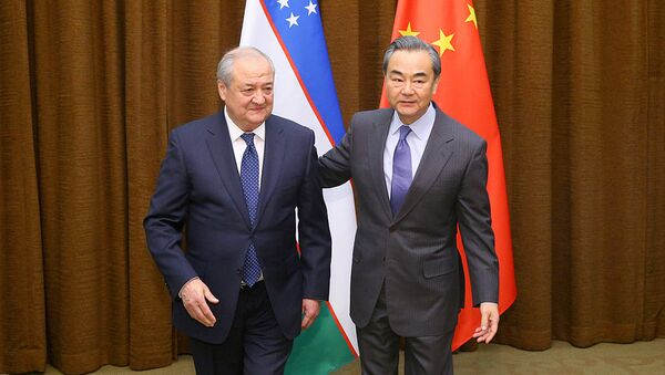 Glava MID KNR Van I i glava MID Uzbekistana Abdulaziz Kamilov - Sputnik Oʻzbekiston