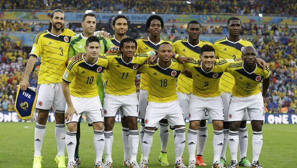 Колумбийская национальная сборная по футболу - Sputnik Ўзбекистон