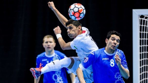 Сборная Узбекистана уступила Ирану на чемпионате Азии по футзалу - Sputnik Узбекистан