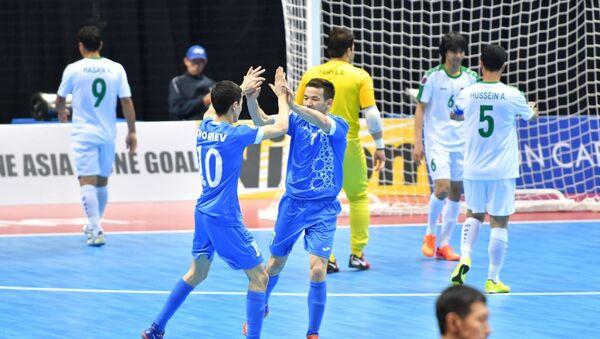 Мачт за третье место Узбекистан - Ирак на чемпионате Азии по футзалу - Sputnik Узбекистан