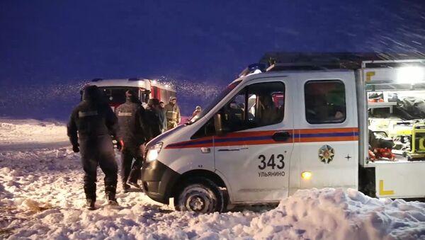 Крушение пассажирского самолета в Московской области - Sputnik Узбекистан