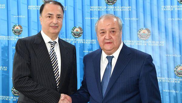 Abdulaziz Kamilov i Lev Levayev - Sputnik Oʻzbekiston