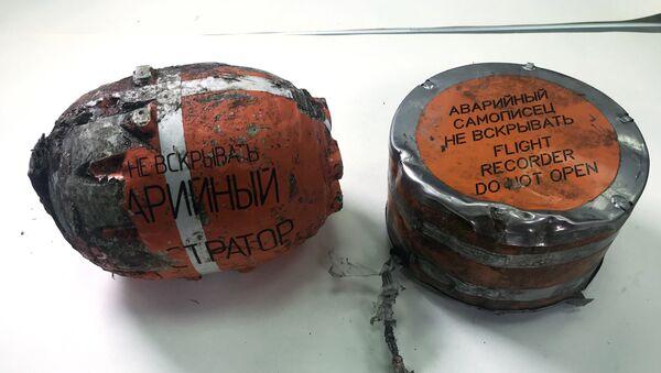 МАК опубликовал фотографии бортовых самописцев разбившегося в Подмосковье Ан-148 - Sputnik Ўзбекистон