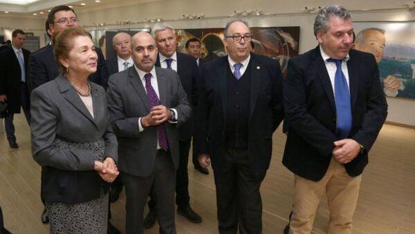 Delegatsiya v sostave predstaviteley ryada ispanskix kompaniy posetili rezidentsiyu Oksaroy - Sputnik Oʻzbekiston