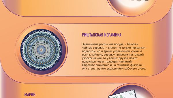 Сувениры из Узбекистана - Sputnik Узбекистан